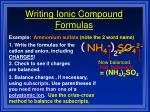 writing ionic compound formulas1
