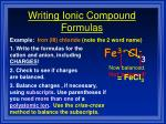 writing ionic compound formulas2