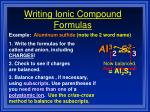 writing ionic compound formulas3