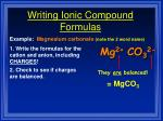 writing ionic compound formulas4