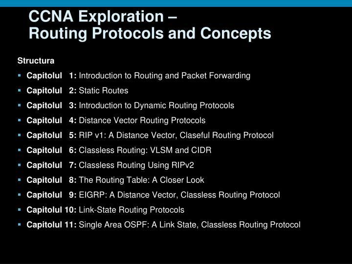 CCNA Exploration –