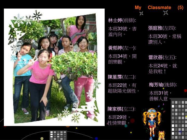My     Classmate     (5)