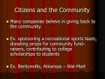citizens and the community4