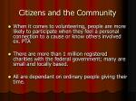 citizens and the community5