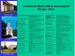 forumul de mediu fm al microregiunii dun re nera