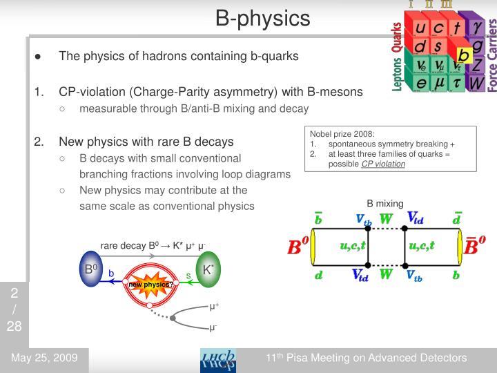 B-physics