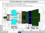 lhcb detector tracking stations