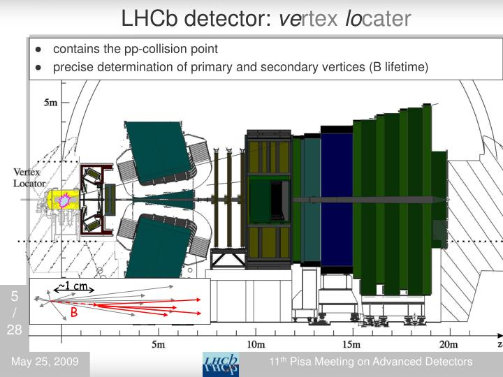 LHCb detector: