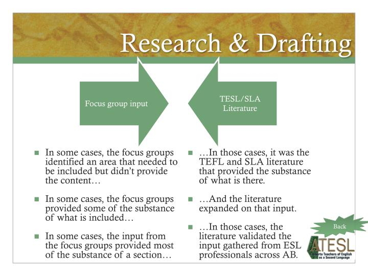 Research & Drafting