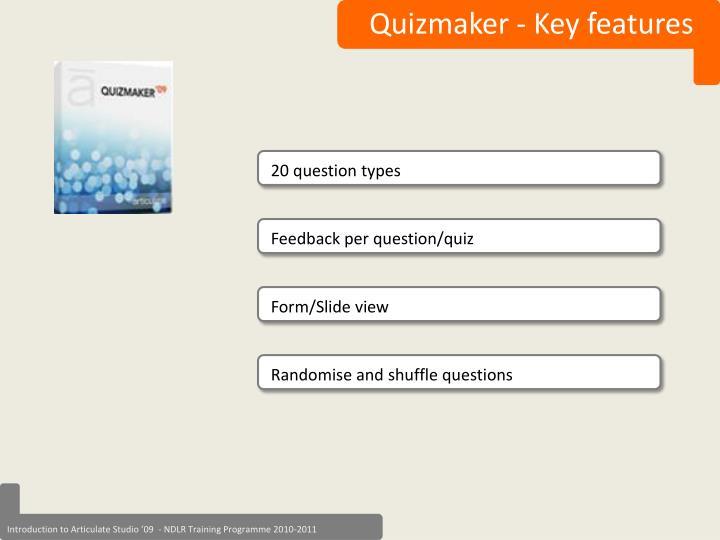 Quizmaker
