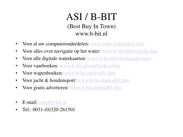 ASI / B-BIT