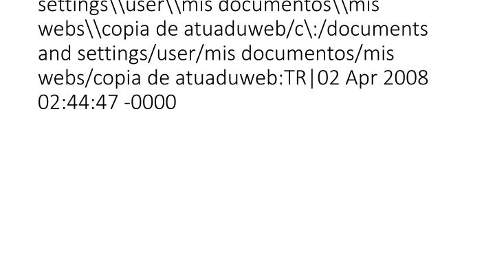 vti_syncwith_localhost\c\:\documents and settings\user\mis documentos\mis webs\copia de atuaduweb/c\:/documents and settings/user/mis documentos/mis webs/copia de atuaduweb:TR|02 Apr 2008 02:44:47 -0000