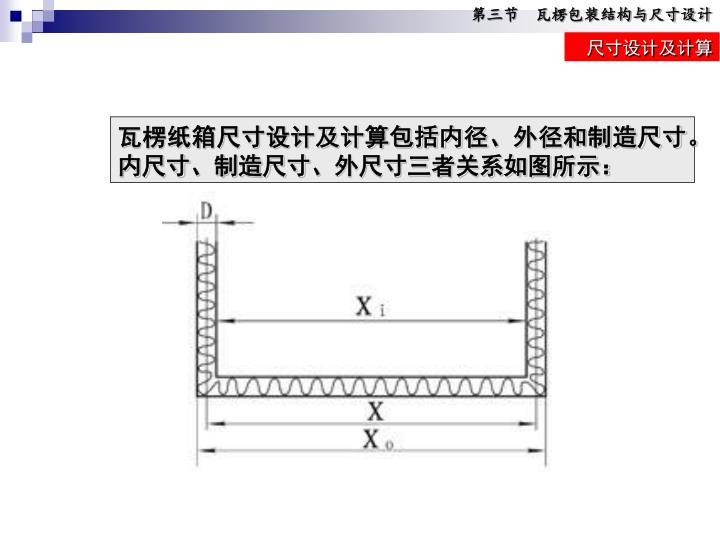 第三节  瓦楞包装结构与尺寸设计
