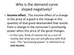 why is the demand curve sloped negatively1