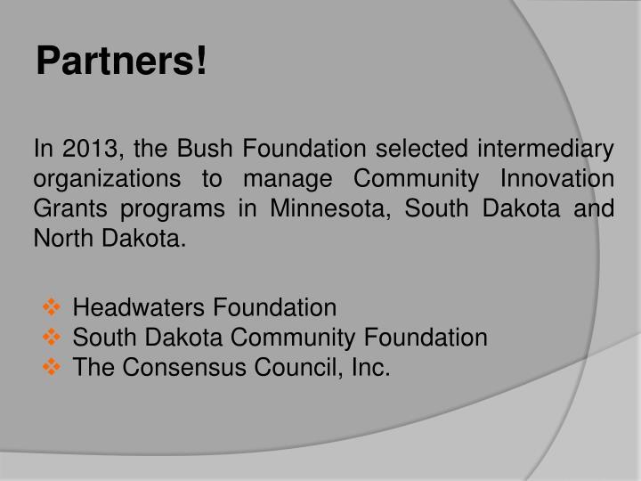 Partners!