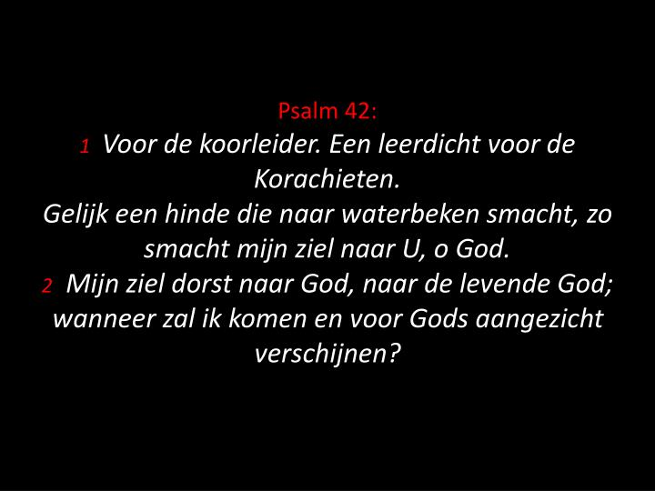 Psalm 42:
