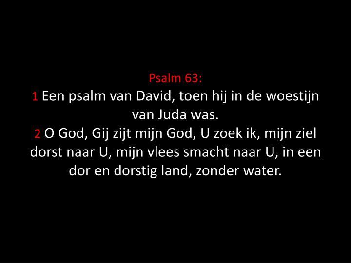 Psalm 63: