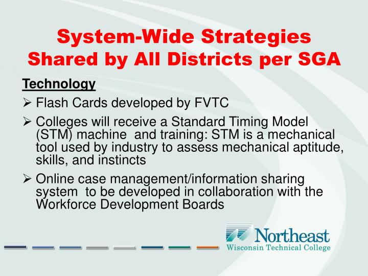 System-Wide Strategies