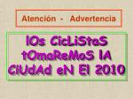 atenci n advertencia
