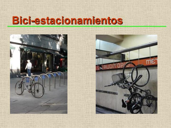 Bici-estacionamientos