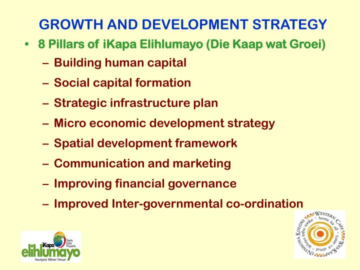 GROWTH AND DEVELOPMENT STRATEGY