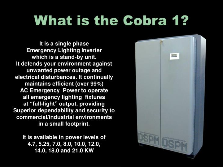What is the Cobra 1?