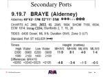 secondary ports