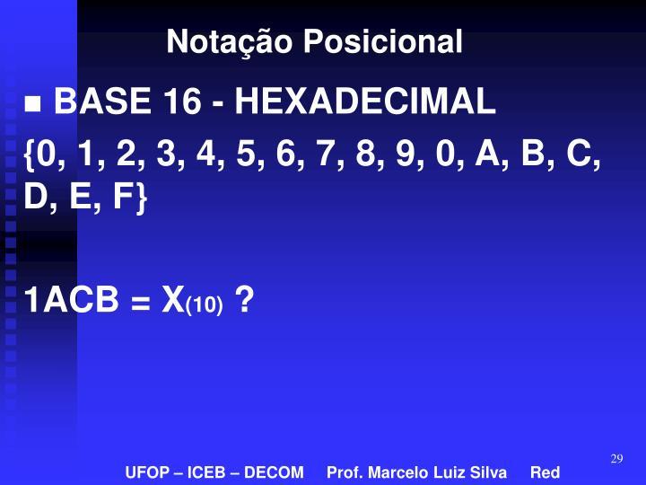 Notação Posicional