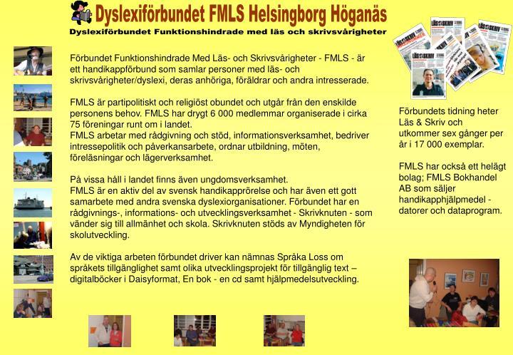Dyslexiförbundet FMLS Helsingborg Höganäs
