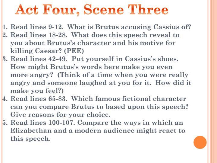 Act Four, Scene Three