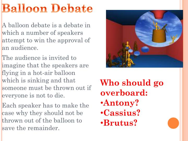 Balloon Debate