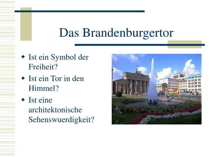 Das Brandenburgertor