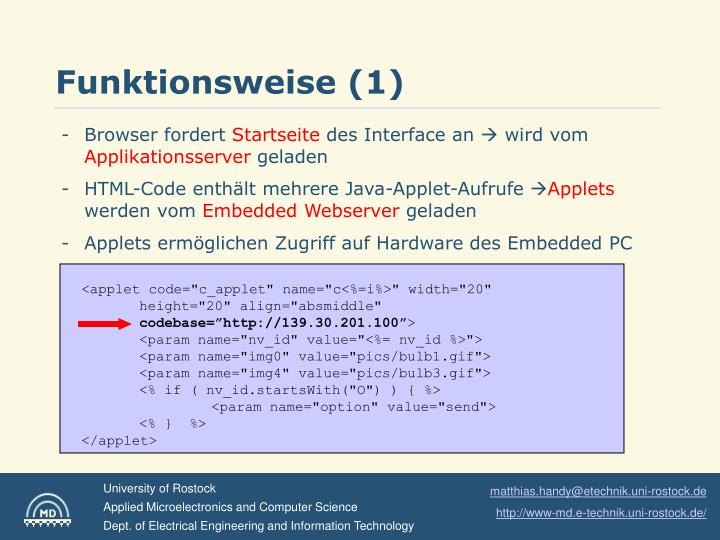 Funktionsweise (1)