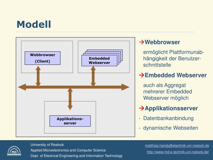 Embedded Webserver (n)