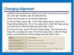 changing alignment3