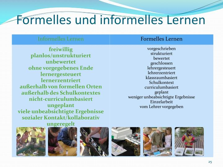 Formelles und informelles Lernen