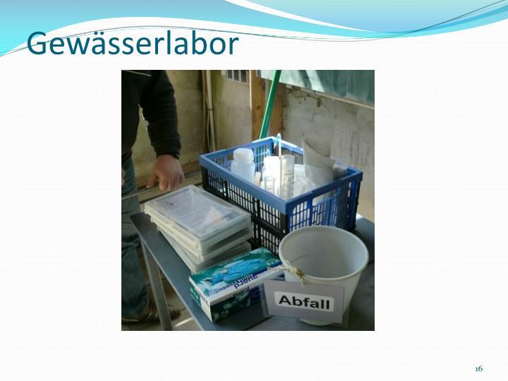 Gewässerlabor