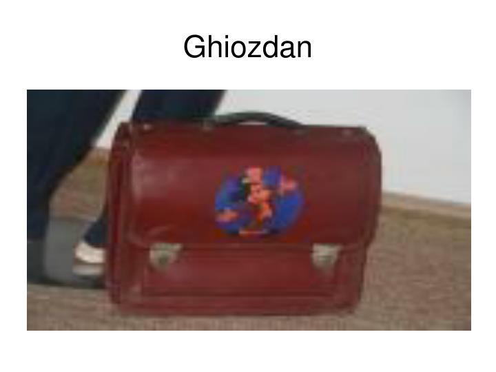 Ghiozdan