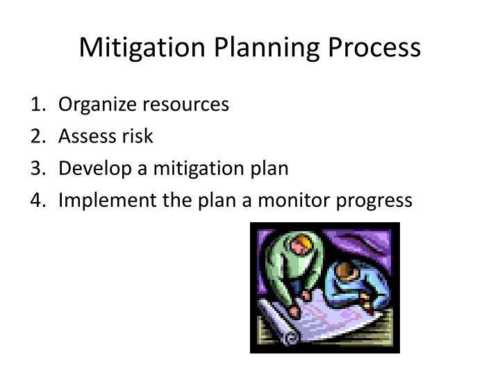 Mitigation Planning Process