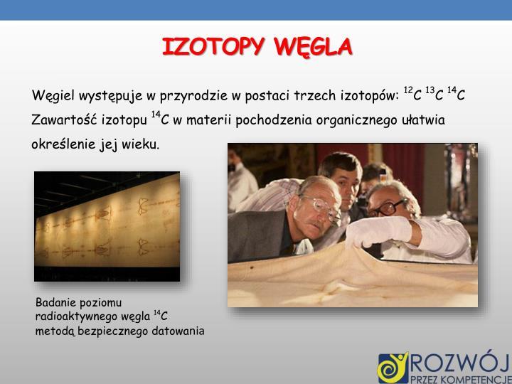 IZOTOPY WĘGLA