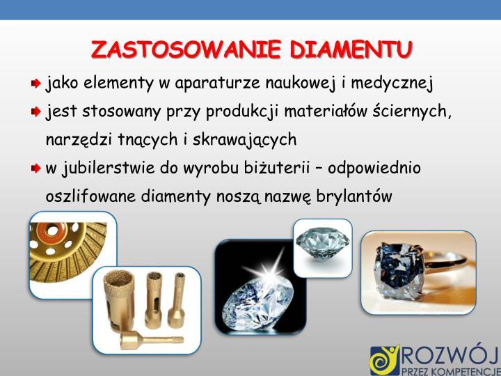 Zastosowanie diamentu