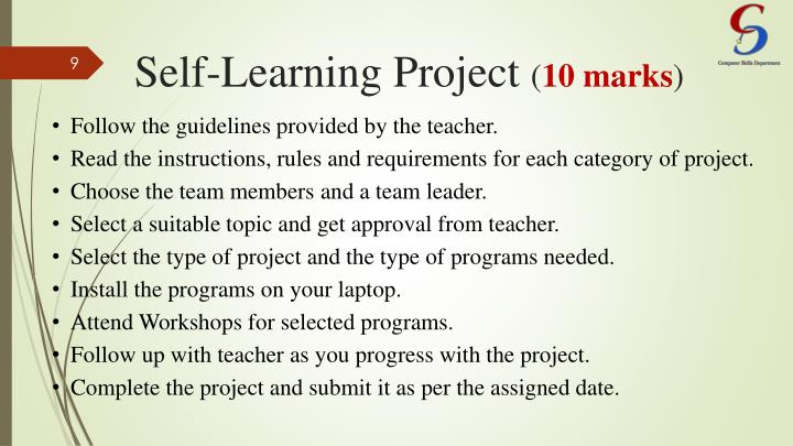 Self-Learning Project