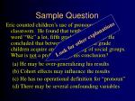 sample question6