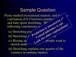 sample question7