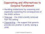 coparenting and alternatives to corporal punishment
