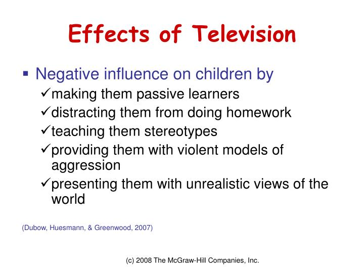 Effects of Television