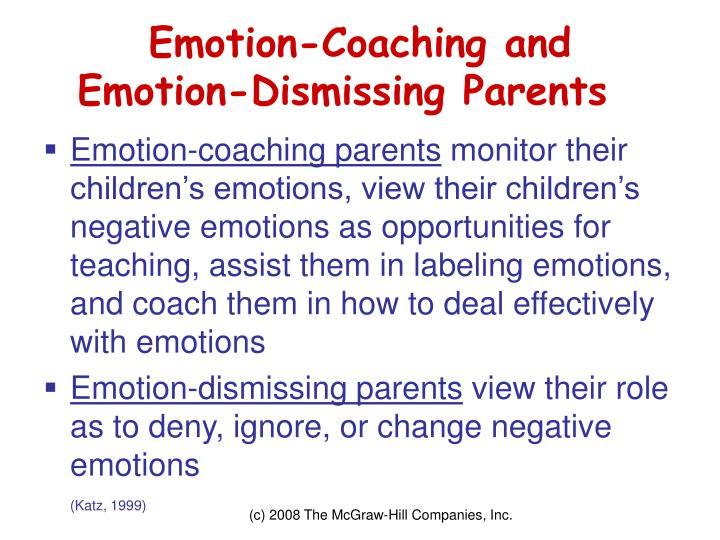 Emotion-Coaching and
