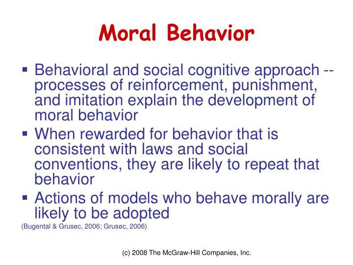 Moral Behavior