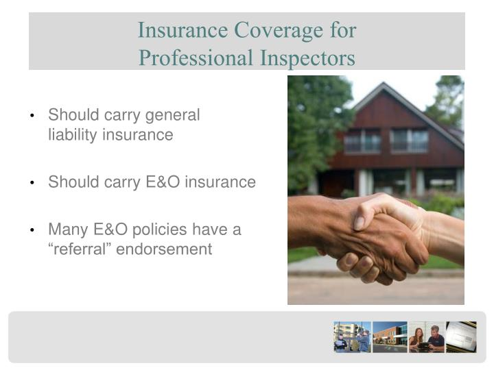 Insurance Coverage for