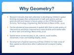 why geometry